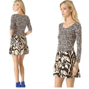 DVF Diane Von Furstenberg Kay Dress Animal Print 8